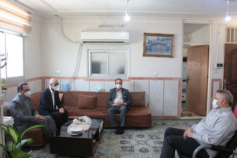 دیدار مدیرکل بهزیستی استان با نماینده شهرستان های گرمسار و آرادان