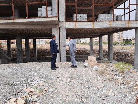 گزارش تصویری  بازدید آقای پاشازاده معاون پشتیبانی بهزیستی استان از احداث ساختمان اورژانس اجتماعی شهرستان اسکو