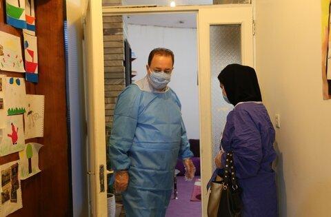 بازدید از مرکز توانبخشی امام رضا علیه السلام