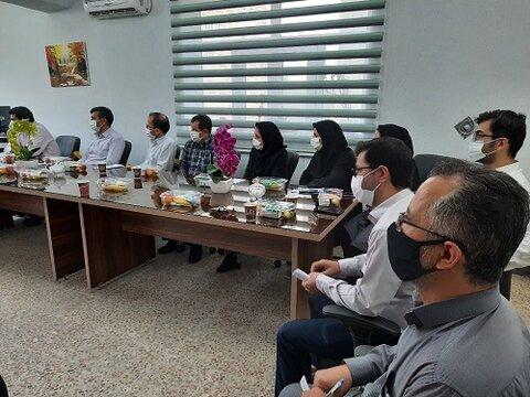 گزارش تصویری دیدار دکتر صحاف مدیر کل بهزیستی آذربایجان شرقی با کارکنان اداره بهزیستی و اورژانس اجتماعی شهرستان اسکو