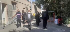حضور معاون توانبخشی بهزیستی استان تهران در شهرستان شهریار