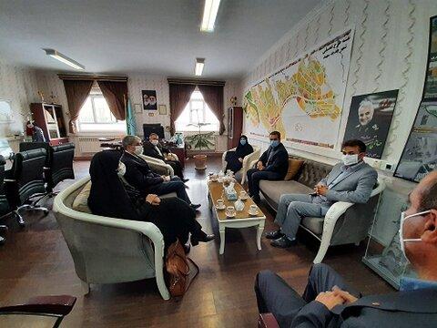 گزارش تصویری دیدار مدیر کل بهزیستی آذربایجان شرقی با مدیر عامل شرکت عمران شهر جدید سهند