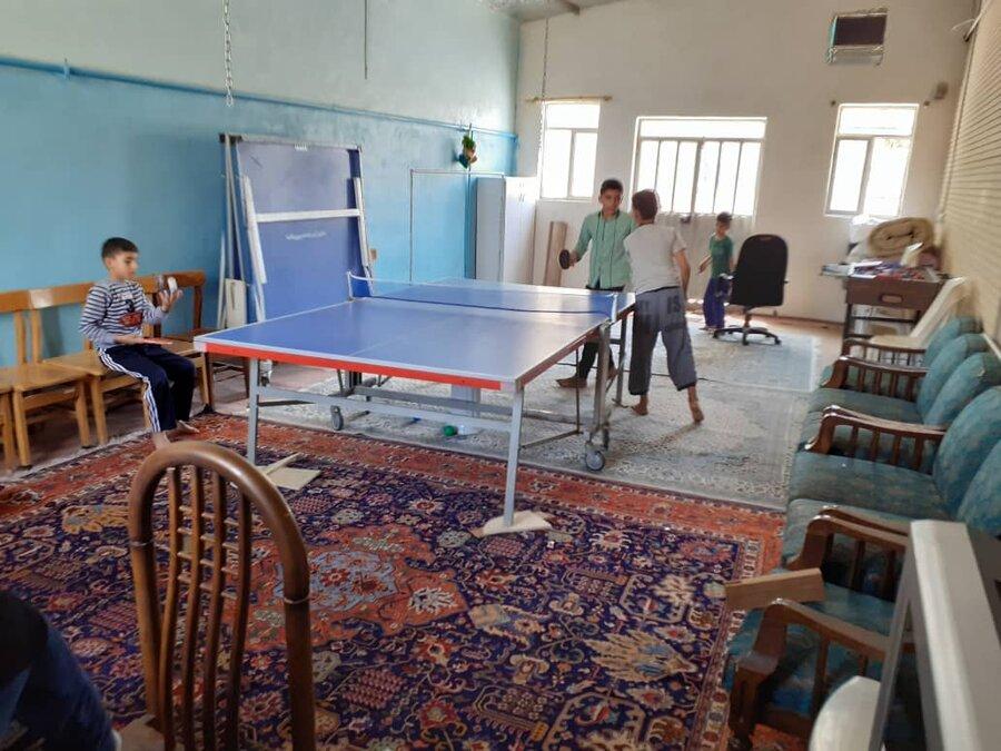 گزارش تصویری| مرکز نگهداری پسران 7 تا 14 سال حضرت ام البنین(س) شهرستان پاکدشت