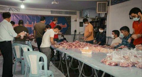 ورامین| گوشت قربانی بین خانوادهای نیازمند ورامینی توزیع شد