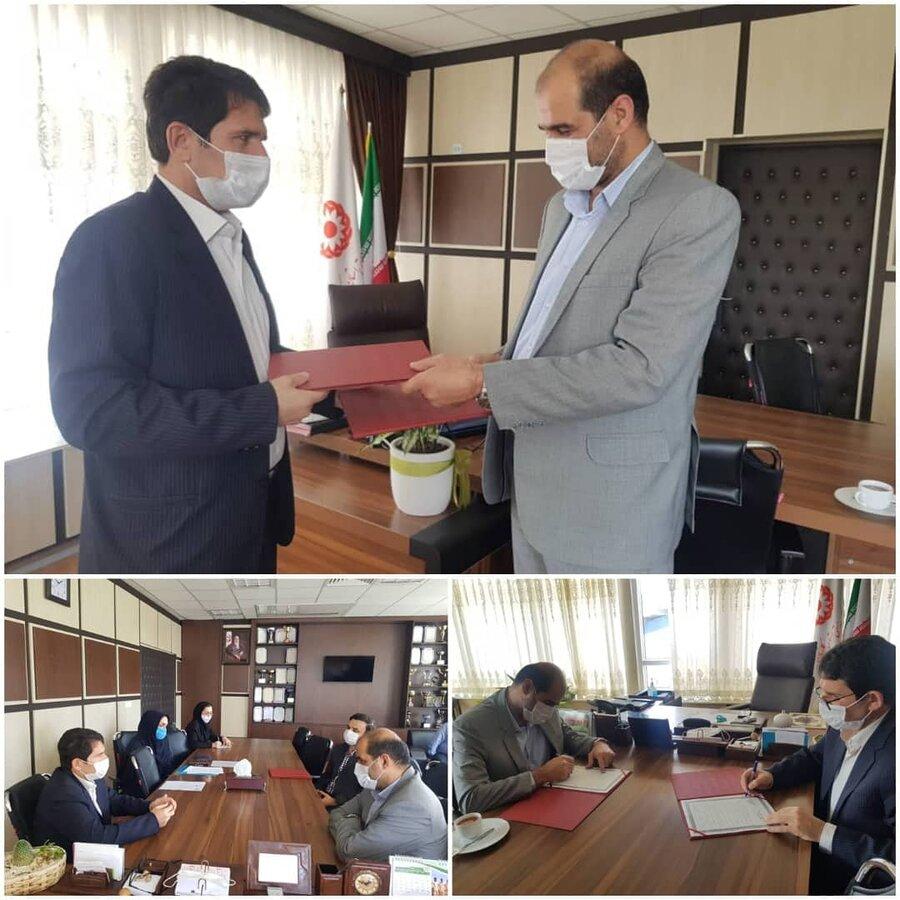 انعقاد تفاهم نامه همکاری مشترک بین اداره کل بهزیستی و سازمان  فنی و حرفه ای استان گلستان