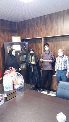 اشتهارد   تجلیل از مددجویان سادات اشتهاردی