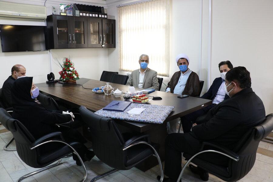 دیدار مدیر کل بهزیستی استان گیلان با دبیر شورای هماهنگی مبارزه با مواد مخدر استان