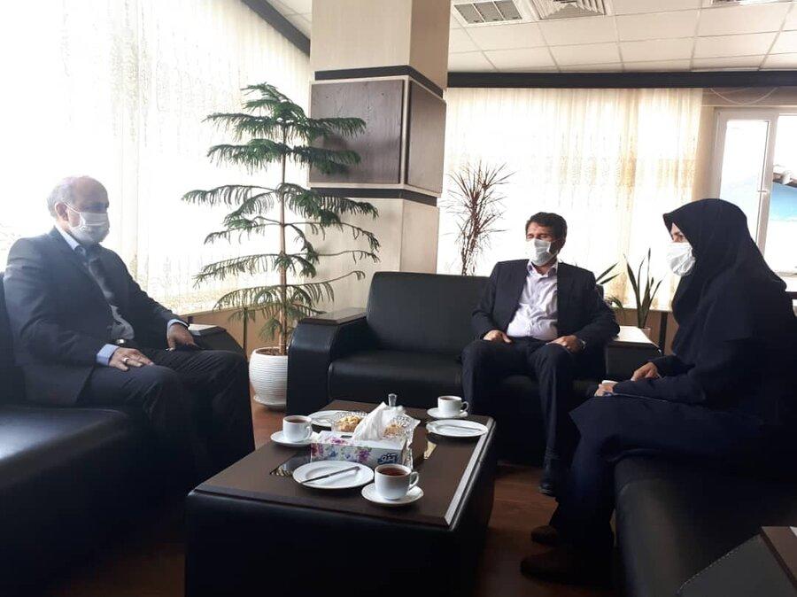 دیدار فرماندهی بسیج سازندگی با مدیر کل بهزیستی گلستان
