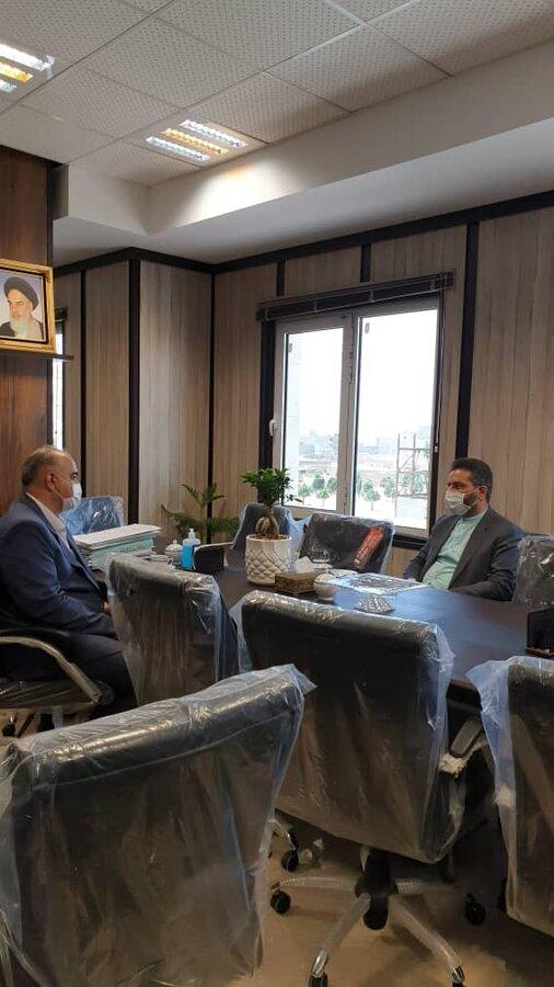 پاکدشت|همکاری بهزیستی پاکدشت با دستگاه قضایی شریف آباد توسعه می یابد