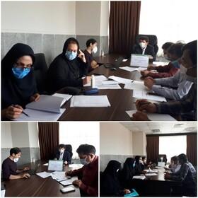 برگزاری نهمین جلسه کارگروه عملیاتی تاسیس مراکز مثبت زندگی در بهزیستی گلستان