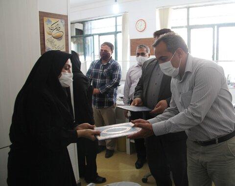 گزارش تصویری| سادات شاغل در بهزیستی ایلام تقدیر شدند