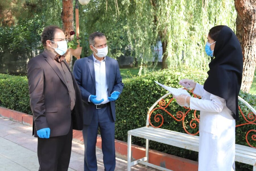 بازدید مدیر کل بهزیستی استان از مراکز نگهداری تحت پوشش