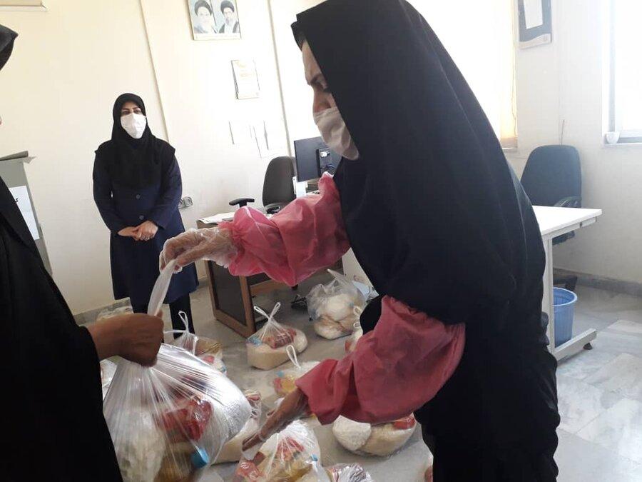 اسدآباد ا  اهدا سبد غذایی به مددجویان