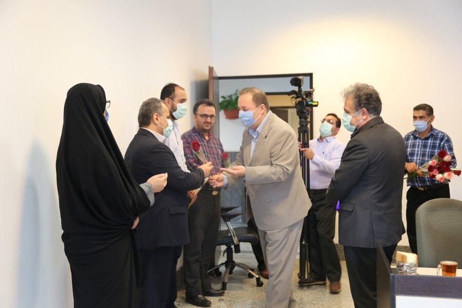 تبریک مدیرکل بهزیستی به خبرنگاران واحد خبر صدا و سیما