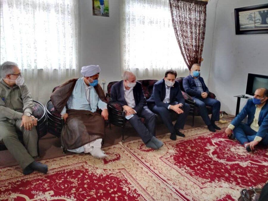 دیدار مدیرکل بهزیستی گیلان با توانخواهان سادات به مناسبت عید غدیر