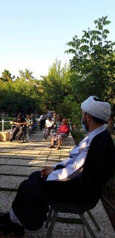 گزارش تصویری برپایی جشن عید سعید غدیر خم در مرکز سالمندان جنت