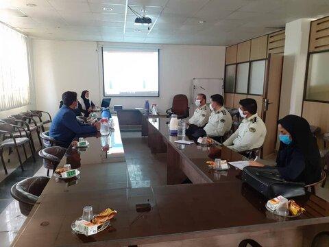 ملارد نشست مشترک بهزیستی و نیروی انتظامی در ملارد برگزار شد