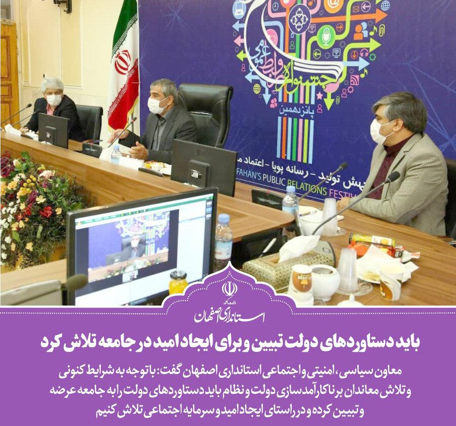 کسب رتبه برتر بهزیستی استان در پانزدهمین جشنواره روابط عمومی اصفهان