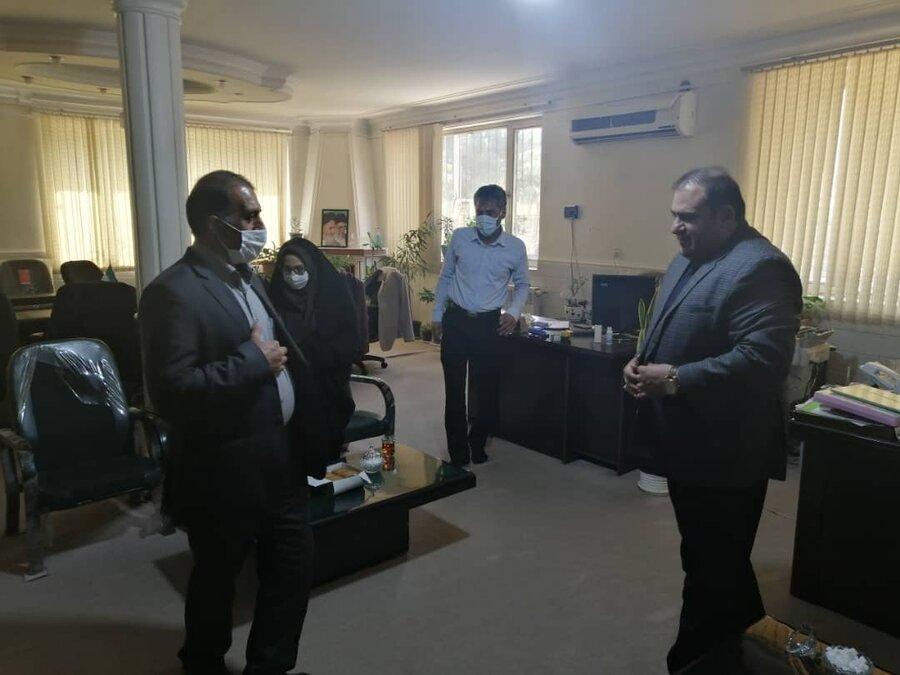 رئیس بهزیستی ورامین در جمع خبرنگاران