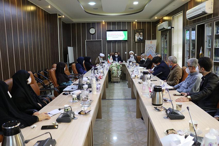 نشست شورای معاونین با حضور مسئول تربیت و آموزش سپاه قدس گیلان