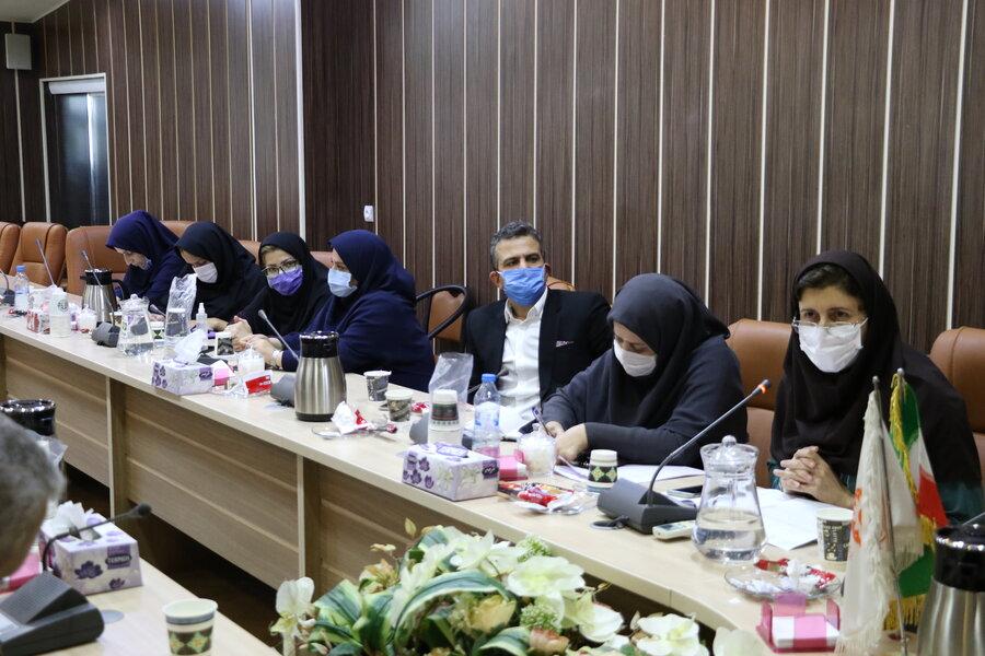 نشست فوق العاده کمیته پیشگیری از بیماریهای واگیر بهزیستی استان / پنجاه و ششمین جلسه