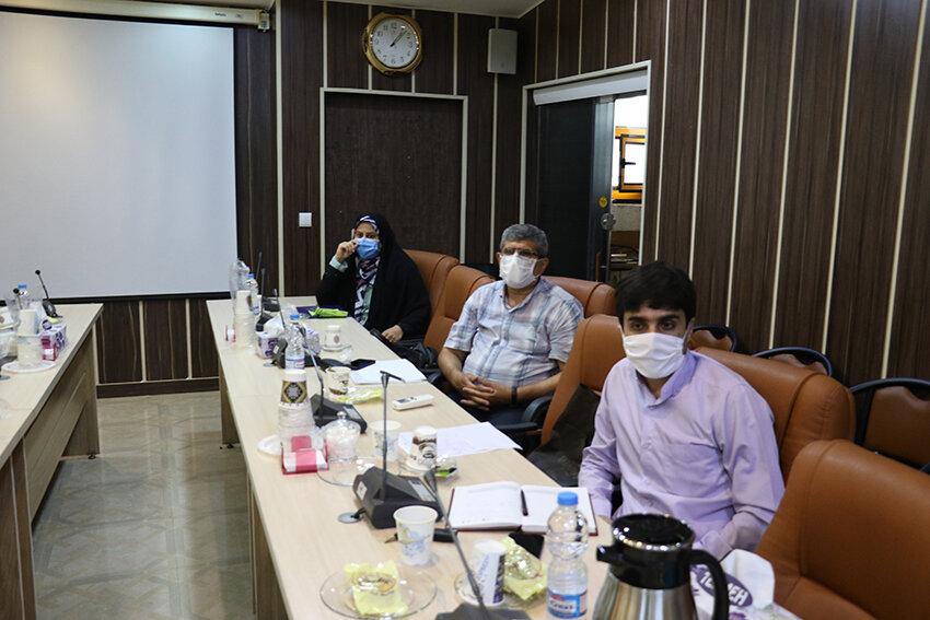 نشست هم اندیشی مدیرکل بهزیستی گیلان با مدیران موسسات خیریه مردم نهاد معلولین