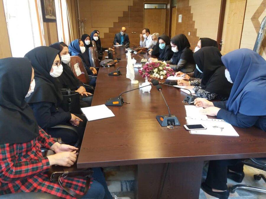 ملایر|  جلسه توجیهی و جانمایی مراکز مثبت زندگی برگزار شد