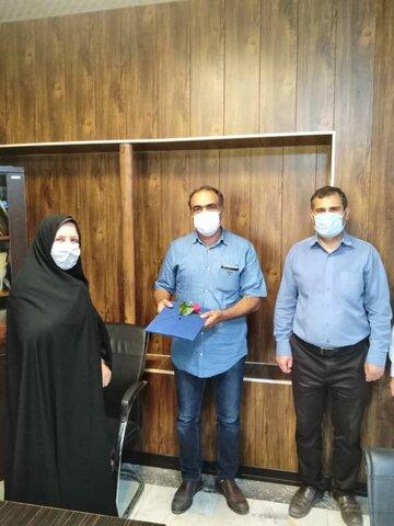 اشتهارد  تقدیر از موسسات فعال شهرستان اشتهارد