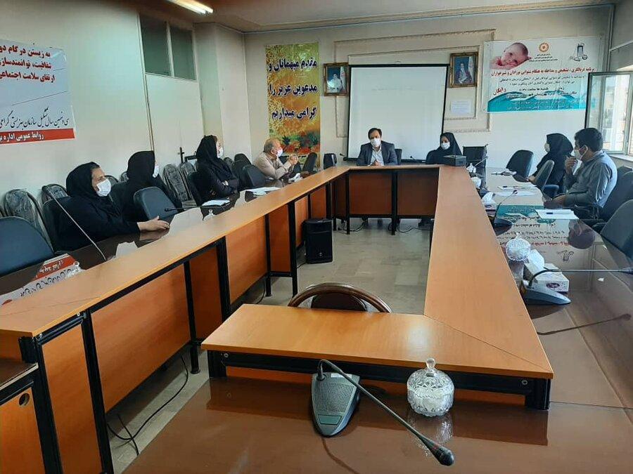 ساوجبلاغ | برگزاری کلاس آموزشی پایگاههای خدمات  اجتماعی تحت نظارت اداره بهزیستی