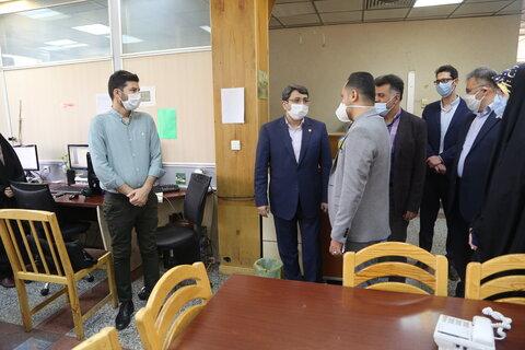 بازدید دکتر قبادی دانا از باشگاه خبرنگاران جوان