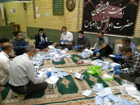 گزارش تصویری  ا توزیع هزار بسته بهداشتی به نیازمندان بهزیستی استان اردبیل