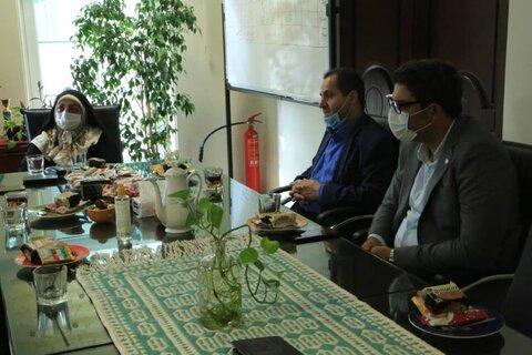 دیدار با ریس مرکز مهر طه به مناسبت سالروز آزادگان