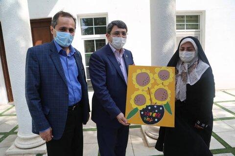 گزارش تصویری تجلیل رئیس بهزیستی کشور از مدیر موسسه طلیعه مهر طه