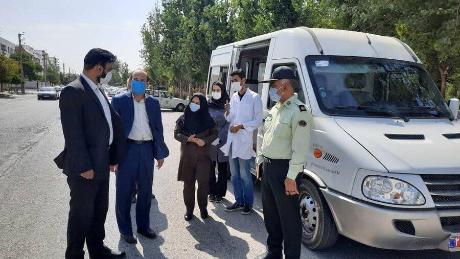 فردیس | بازدید از مراکزکاهش آسیب شهرستان فردیس