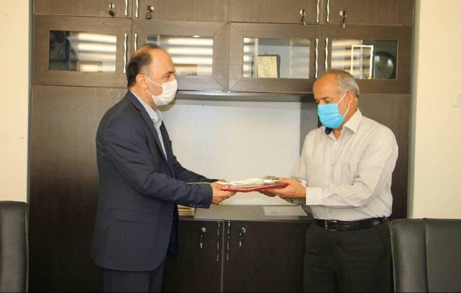 شهرتهران  دیدار مدیر بهزیستی شهر تهران با همکاران آزاده