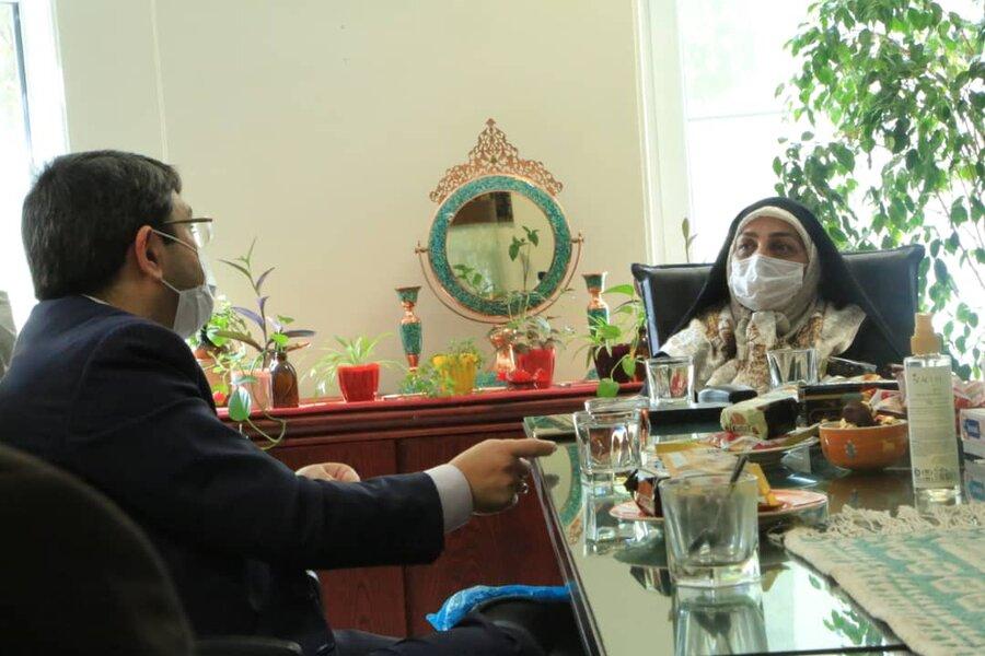 تجلیل رئیس بهزیستی کشور از مدیر موسسه طلیعه مهر طه