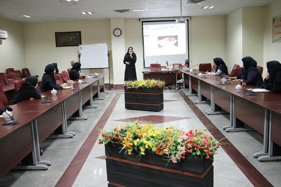 شهرتهران|برگزاری کارگاه آموزشی اخلاق سازمانی در بهزیستی شهر تهران