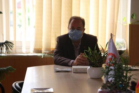 بازدید مدیر کل بهزیستی مازندران از اداره بهزیستی بابلسر