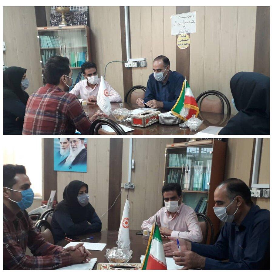 اسدآباد|برگزاری دومین جلسه کمیته  اشتغال