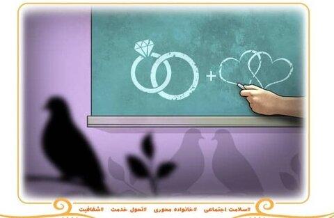خدمات سازمان بهزیستی در آموزش های پیش از ازدواج