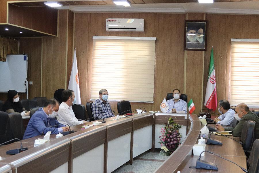 برگزاری جلسه کمیته پیشگیری از بیماری های واگیر دار در بهزیستی آذربایجان غربی