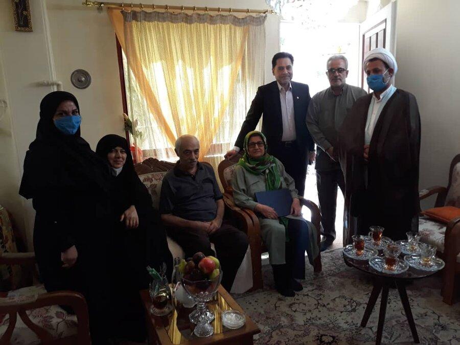 دیدار دکتر حسین نحوی نژاد با همکاران بازنشسته به مناسبت روز تکریم بازنشستگان