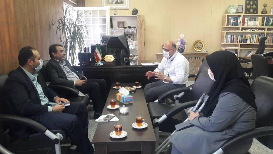 افتتاح ساختمان اداره بهزیستی آزادشهر در هفته دولت