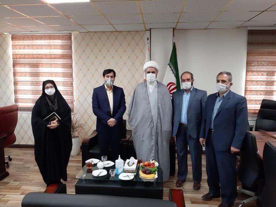 انعقاد تفاهمنامه همکاری فی مابین بهزیستی و ستاد اقامه نماز استان البرز