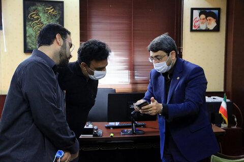 بازدید دکتر قبادی دانا از خبرگزاری تسنیم