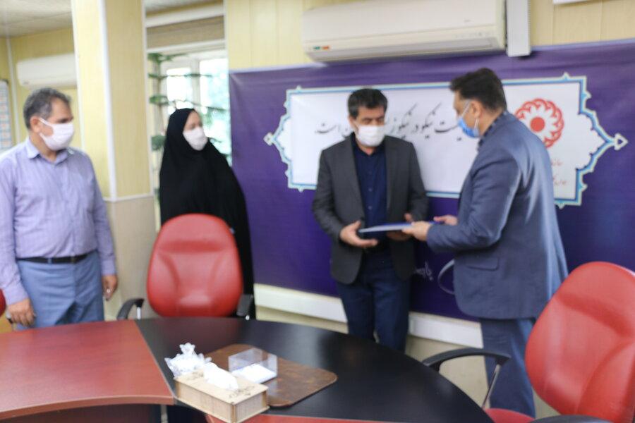 از آزادگان بهزیستی استان تقدیر شد