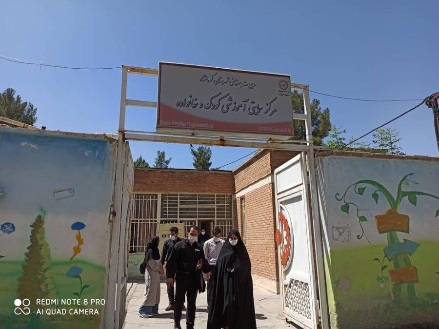 بازدید جانشین مدیرکل بهزیستی کرمانشاه از مرکز حمایتی-آموزشی کودک و خانواده
