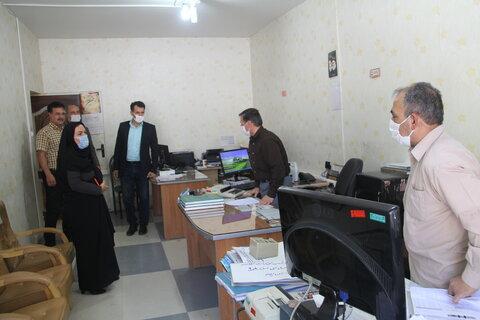 گزارش تصویری| دیدار مدیر کل با کارکنان