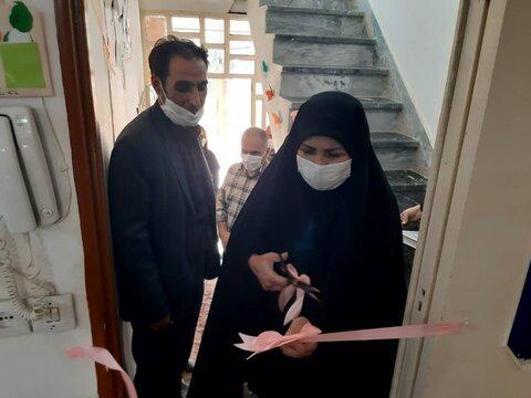 سرپل ذهاب| افتتاح مهدکودک شهرستان زلزله زده سرپل ذهاب