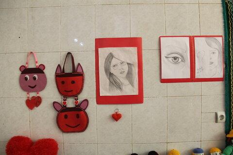 گزارش تصویری| آثار هنری مددجویان واحد بازپروری زنان و خانه سلامت دختران